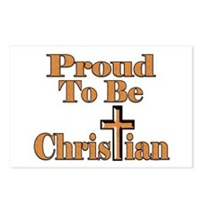 Proud To Be Christian Postcards (Package of 8)