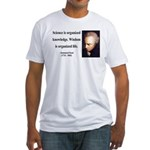 Immanuel Kant 9 Fitted T-Shirt