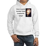 Immanuel Kant 9 Hooded Sweatshirt