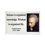 Immanuel Kant 9 Rectangle Magnet (100 pack)