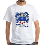 Levesque Family Crest White T-Shirt