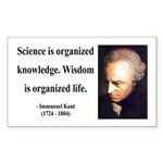 Immanuel Kant 9 Rectangle Sticker