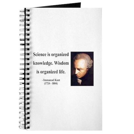 Immanuel Kant 9 Journal