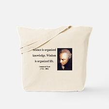 Immanuel Kant 9 Tote Bag