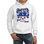 Levesque Family Crest Hooded Sweatshirt
