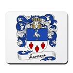 Levesque Family Crest Mousepad