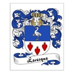 Levesque Family Crest Small Poster
