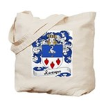 Levesque Family Crest Tote Bag