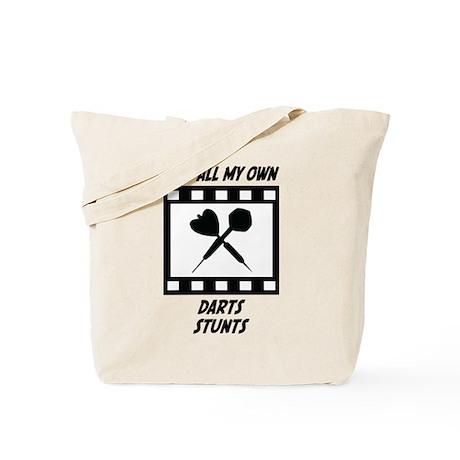 Darts Stunts Tote Bag