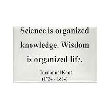 Immanuel Kant 9 Rectangle Magnet