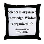 Immanuel Kant 9 Throw Pillow