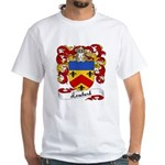 Lombard Family Crest White T-Shirt