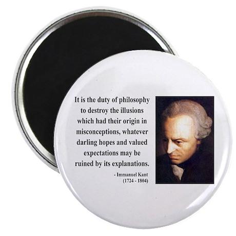 Immanuel Kant 10 Magnet