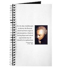 Immanuel Kant 10 Journal