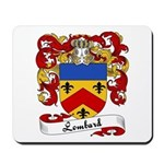 Lombard Family Crest Mousepad