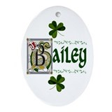 Bailey clan Oval Ornaments