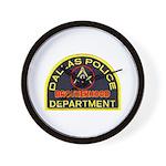 Dallas PD Mason Wall Clock