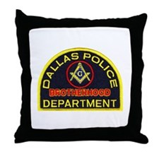 Dallas PD Mason Throw Pillow
