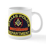 Dallas PD Mason Mug