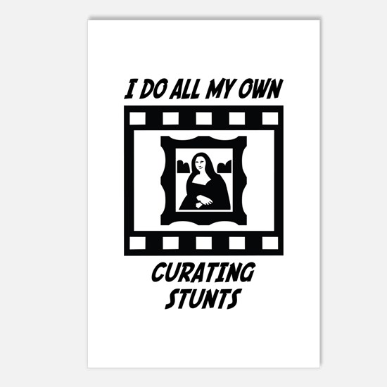 Curating Stunts Postcards (Package of 8)