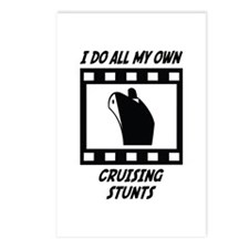 Cruising Stunts Postcards (Package of 8)