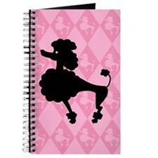 Poodle in Pink Journal