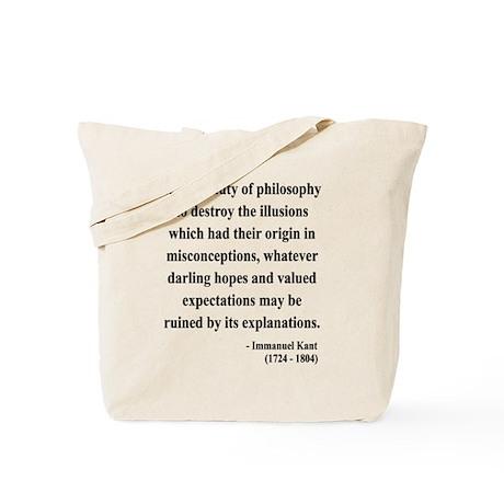 Immanuel Kant 10 Tote Bag