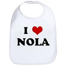 I Love NOLA Bib