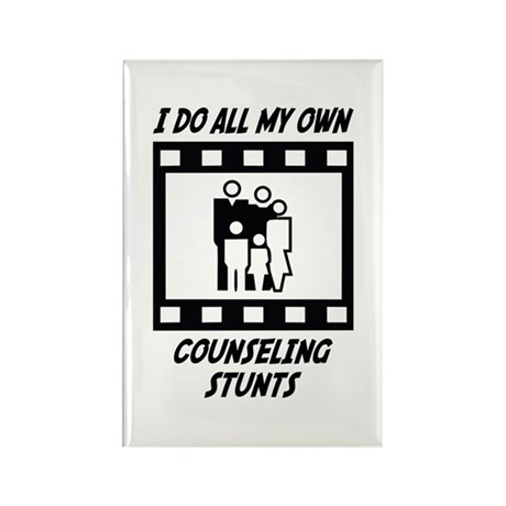 Counseling Stunts Rectangle Magnet (100 pack)
