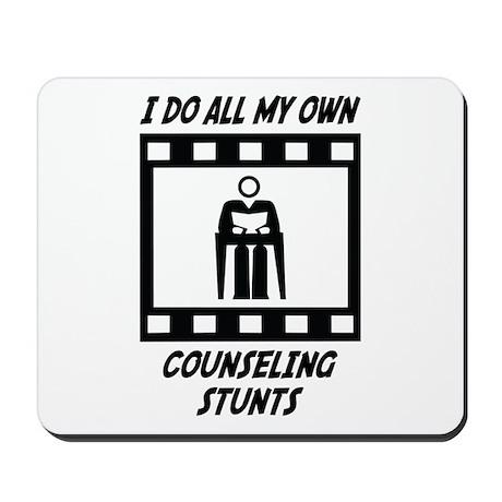 Counseling Stunts Mousepad
