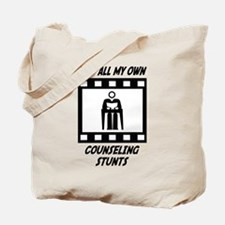 Counseling Stunts Tote Bag