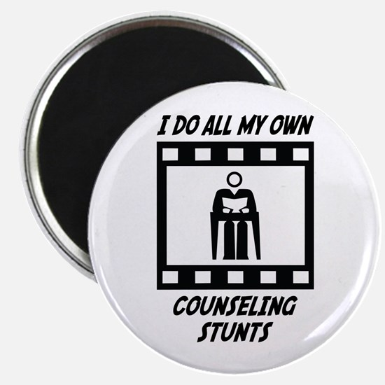 """Counseling Stunts 2.25"""" Magnet (10 pack)"""