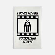 Counseling Stunts Rectangle Magnet (10 pack)