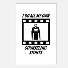 Counseling Stunts Postcards (Package of 8)