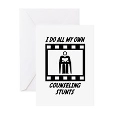 Counseling Stunts Greeting Card