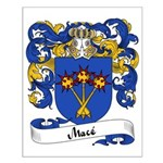 Macé Family Crest Small Poster