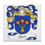 Macé Family Crest Tile Coaster