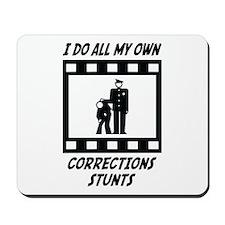 Corrections Stunts Mousepad