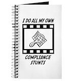 Compliance stunts Journals & Spiral Notebooks
