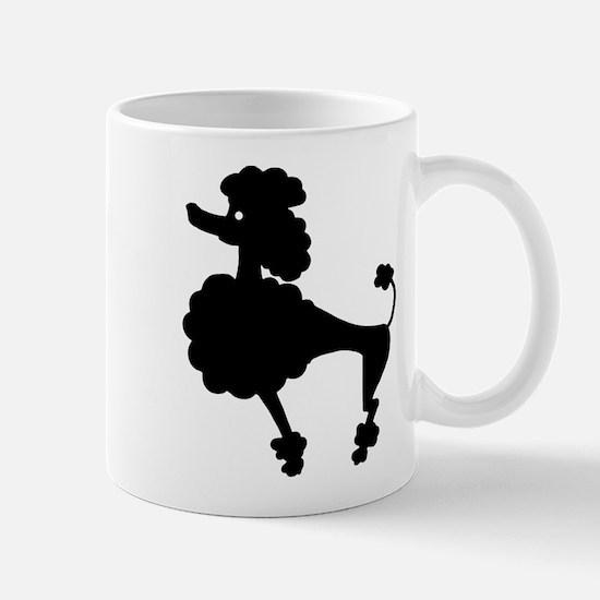 Retro Poodle Mug