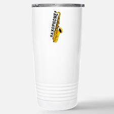 Saxophone Travel Mug