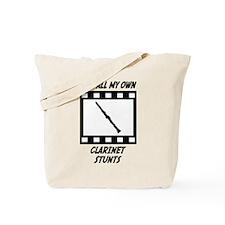 Clarinet Stunts Tote Bag