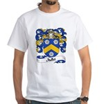 Mallet Family Crest White T-Shirt
