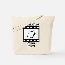 Claims Stunts Tote Bag