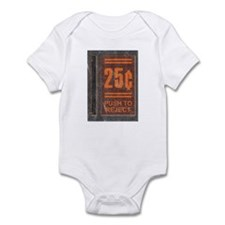 25¢ Push to Reject Infant Bodysuit
