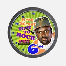 Greg Street Wall Clock