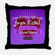 Joyce Littel Throw Pillow