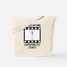 Chiropractic Stunts Tote Bag