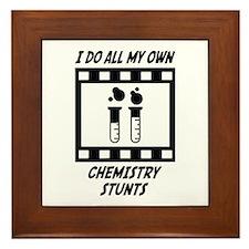 Chemistry Stunts Framed Tile