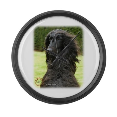 Afghan Hound 9T072D-081 Large Wall Clock